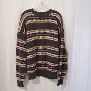 Roundtree & Yorke Sweaters - Rountree & Yorke Striped Sweater